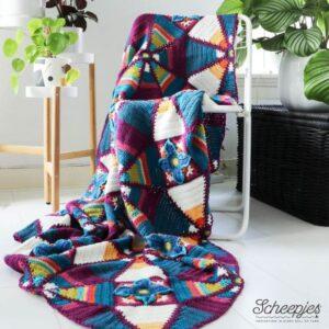 Royal Garden Blanket (Colour crafter)