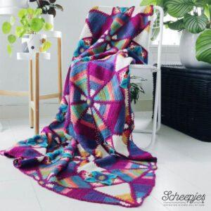 Scheepjes Royal Garden blanket