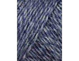Lang Yarns Jawoll 258 jeansblauw blauw