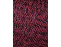 Lang Yarns Jawoll 056 rood zwart