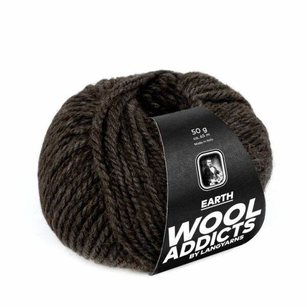 Lang Yarns Earth 67 Donkerbruin (Wool Addicts)