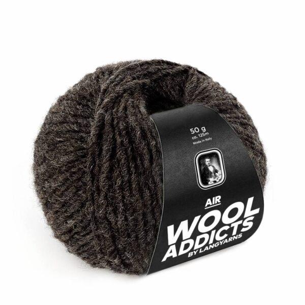 Lang Yarns Air 67 Donkerbruin (Wool Addicts)