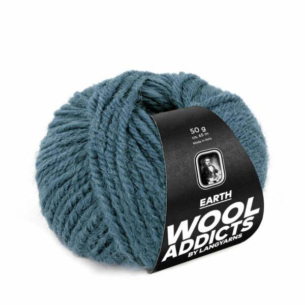 Lang Yarns Earth 74 Zeegroen (Wool Addicts)