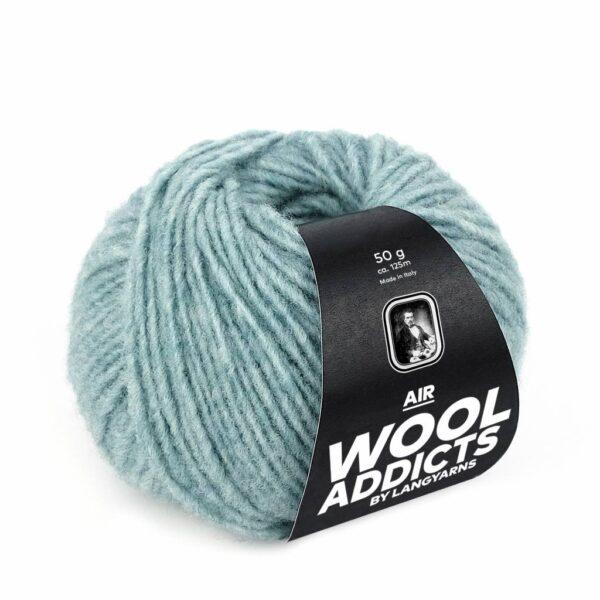 Lang Yarns Air 74 Zeegroen (Wool Addicts)