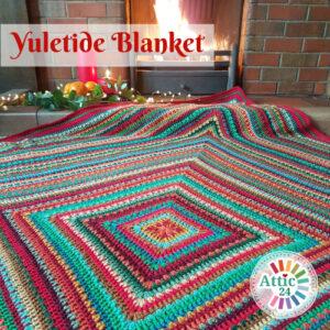 Yuletide blanket