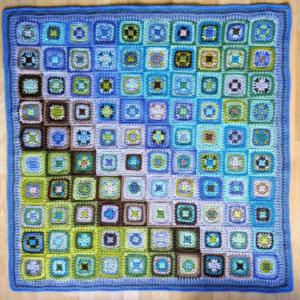 Bluebell Wood harmony blanket